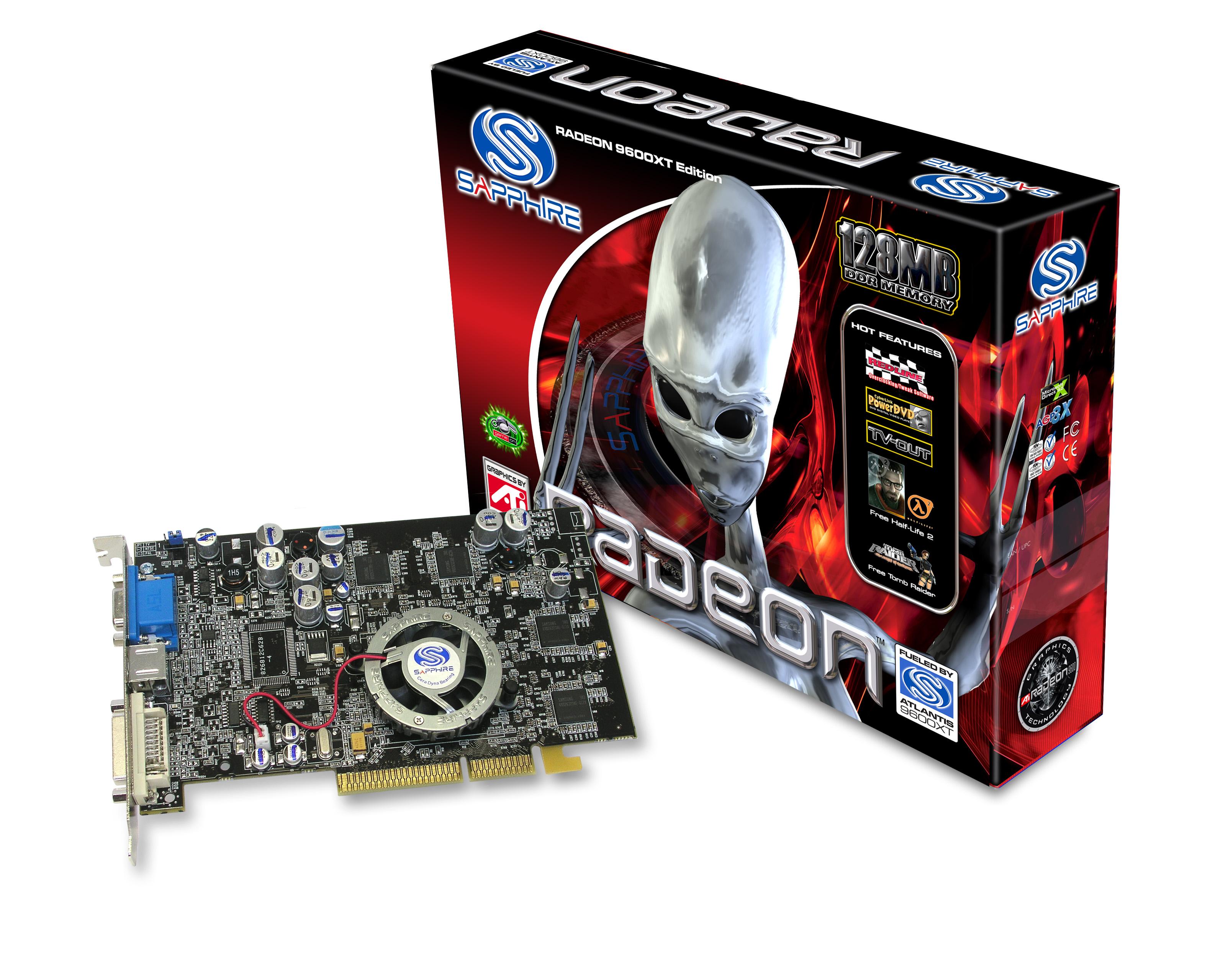 SAPPHIRE RADEON X300SE - driver downloads