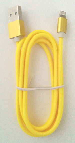 GENERIC APPLE PRODUCTS - GLX - LIGHTNING CABLE TO USB 2.0 (A) - 3FT - YELLOW