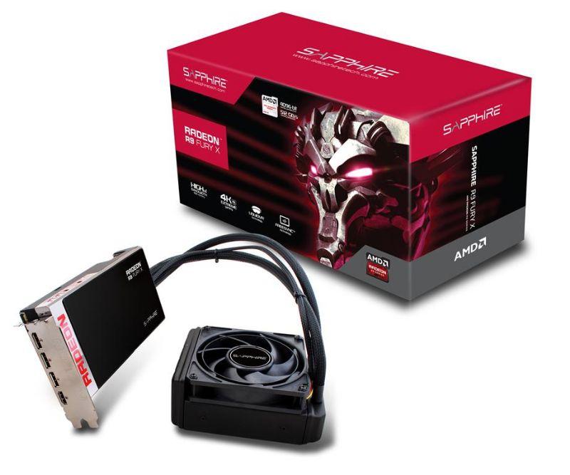 SAPPHIRE AMD R9 FURY X 4G HBM PCIe