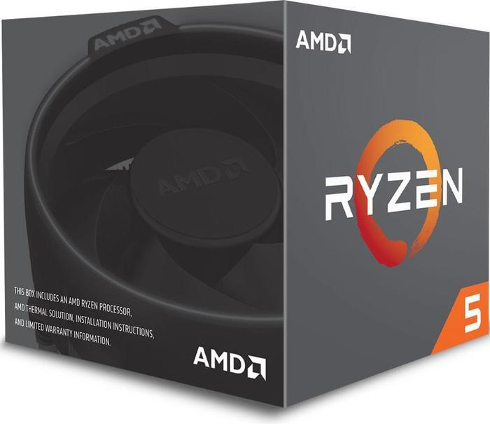 AMD CPU - RYZEN 5 1400 QUAD-CORE 3.4GHZ SOCKET AM4 - DESKTOP PROCESSOR - YD1400BBAEBOX