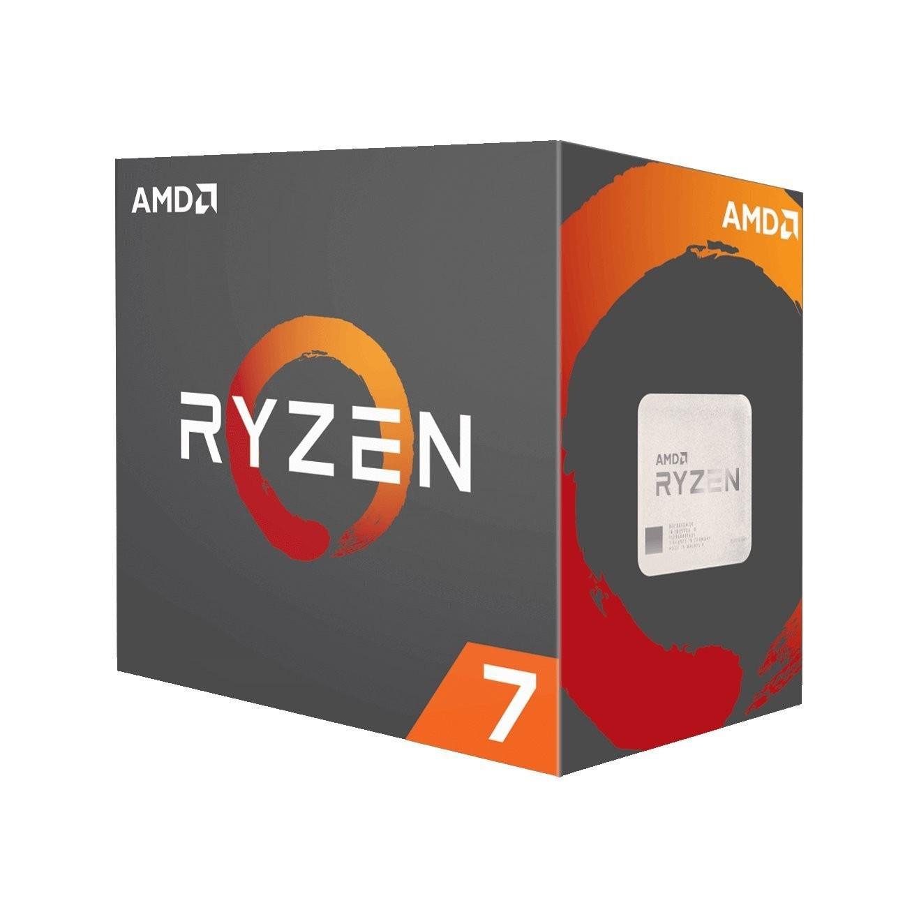 AMD CPU RYZEN 7 1800X - 8-CORE 3.6GHZ SOCKET AM4 - DESKTOP PROCESSOR - YD180XBCAEWOF