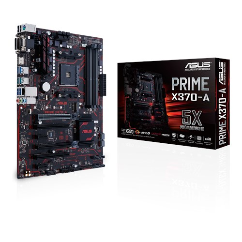 ASUS AMD PRIME X370-A - SOCKET AM4 - DDR4 - ATX - MOTHERBOARD