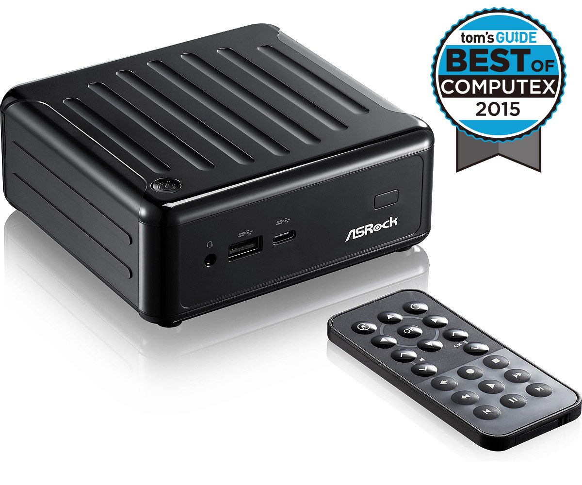 ASROCK BEEBOX MINI PC N3000 NUC BLACK