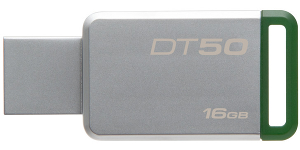 KINGSTON DATATRAVELER 50 - 16GB - USB 3.1 - FLASH DRIVE - DT50/16GB