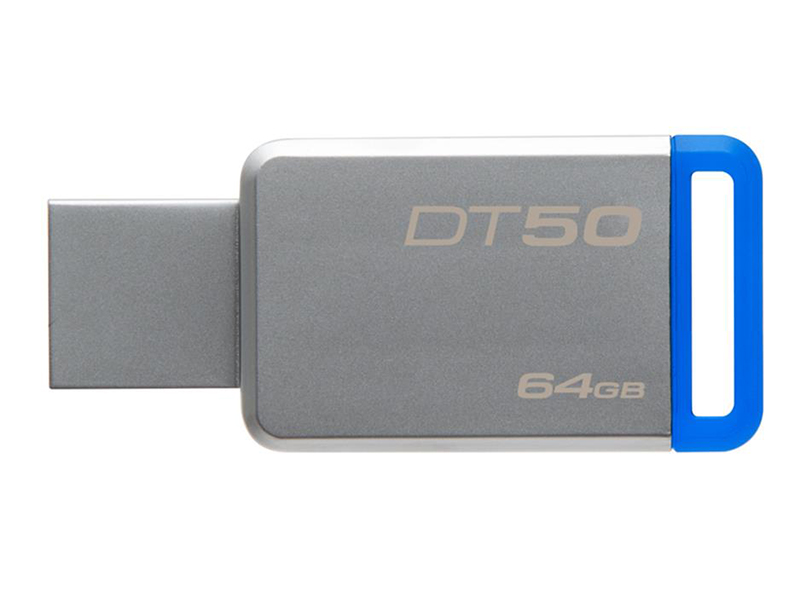 KINGSTON DATATRAVELER 50 - 64GB - USB 3.1 - FLASH DRIVE - DT50/64GB