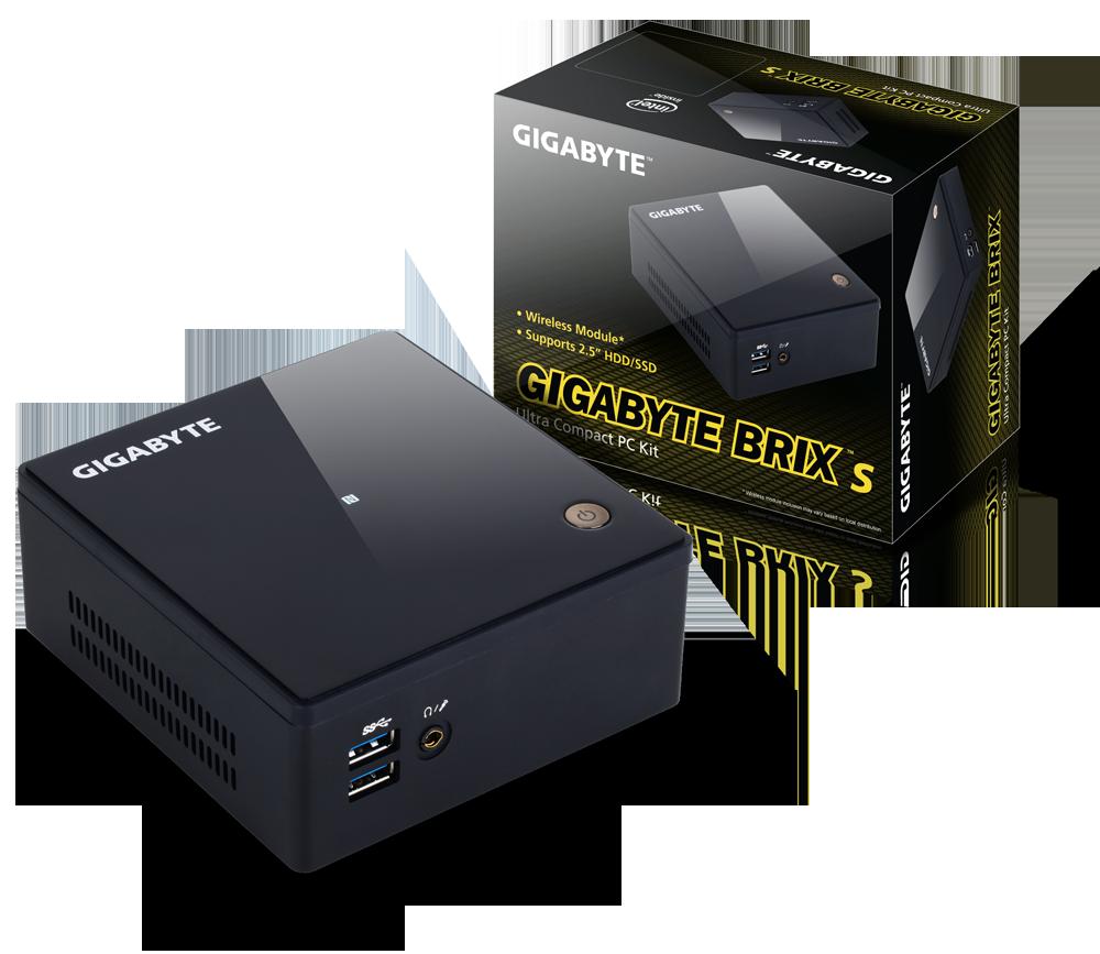 GIGABYTE GB-BXI3H-5010-BN BRIX i3 BAREBONE ULTRA COMPACT PC KIT