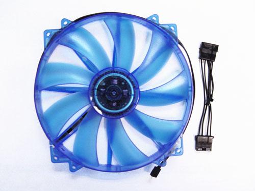 APEVIA 200MM W/UV BLUE LED (RETAIL)