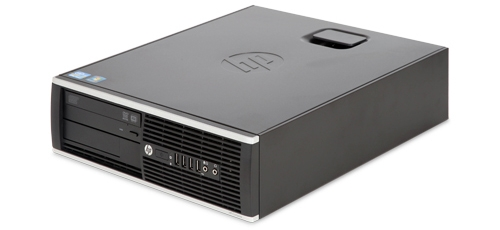 REFURBISHED - HP ELITE 8200 SMALL FORM FACTOR PC - INTEL I7-2600, 8GB, 250GB, DVD, WINDOWS 10 HOME