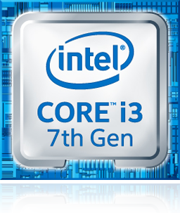 INTEL CPU 7TH GEN - CORE I3-7100 - KABY LAKE - DUAL-CORE, 3.9GHZ, 3MB CACHE - SOCKET 1151 - DESKTOP PROCESSOR - BX80677I37100