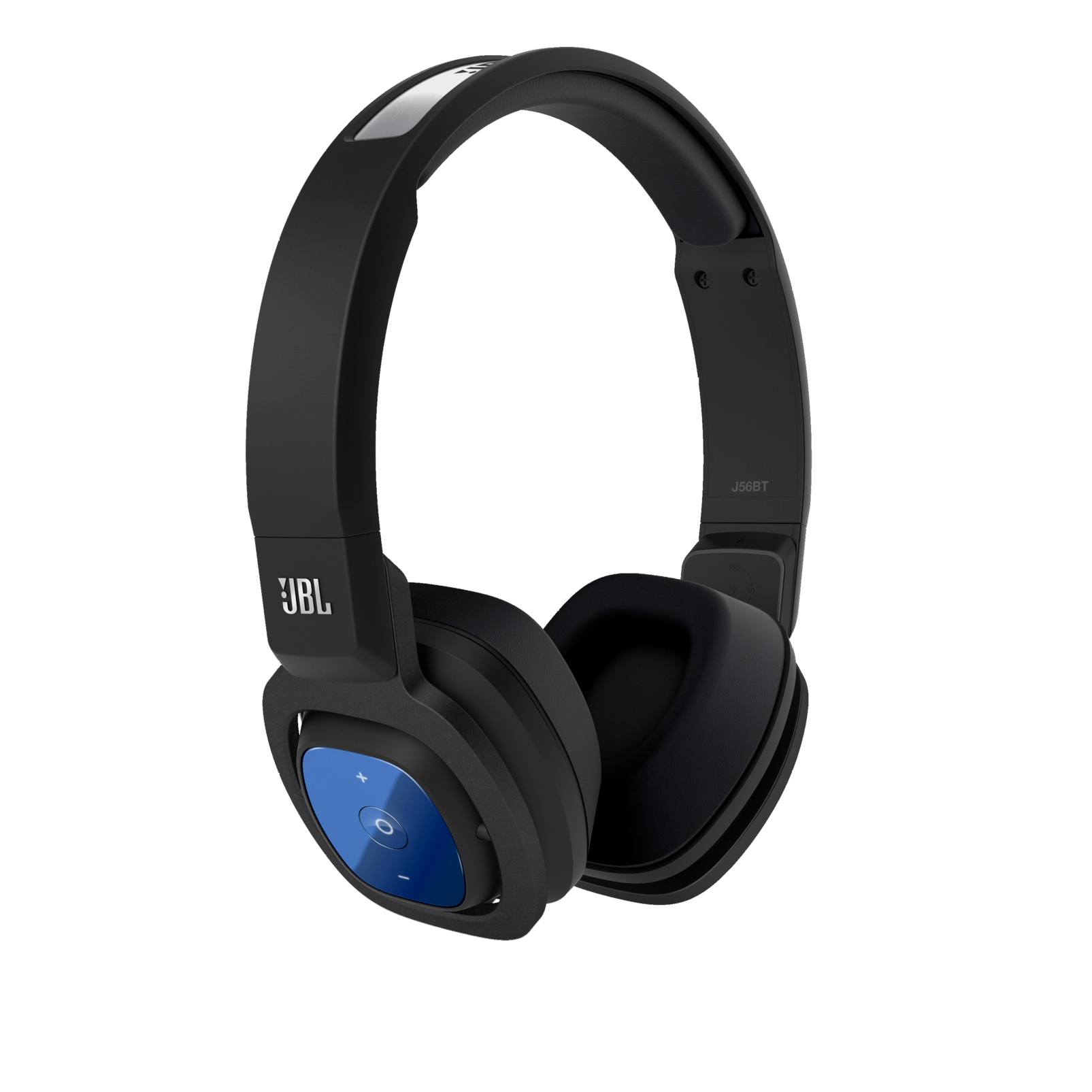 JBL BLUETOOTH WIRELESS ON EAR STEREO HEADPHONE - BLACK - J56BT BLK