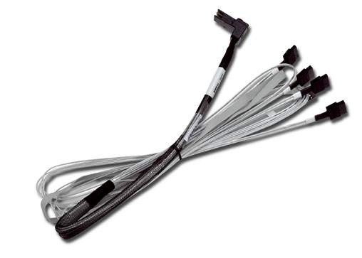 LSI CBL-RA8087SATASB-10M - MINI-SAS INTERNAL TO MULTI-LANE SATA CABLE FANOUT - LSI00274