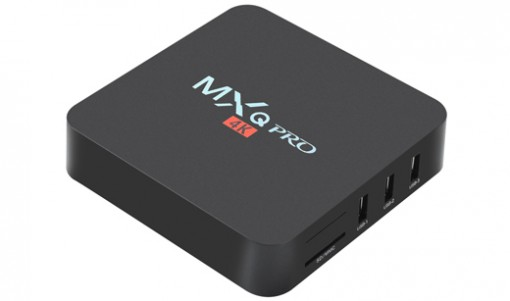 OTT TV BOX - MXQ PRO 4K ANDROID MEDIA PLAYER