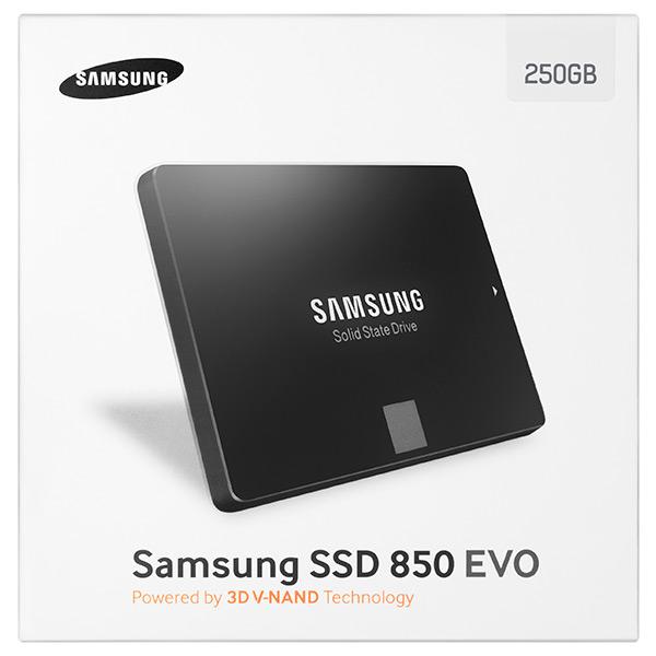 SAMSUNG SSD 250GB 850 EVO SERIES