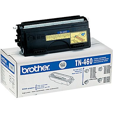 BROTHER TN-460 BLACK TONER CARTRIDGE HIGH YIELD