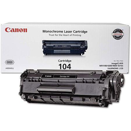CANON 104 BLACK TONER CARTRIDGE - 0263B001