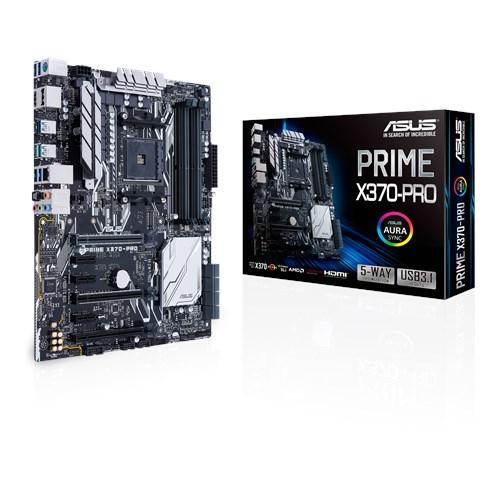 ASUS AMD PRIME X370-PRO - SOCKET AM4 - DDR4 - ATX - MOTHERBOARD