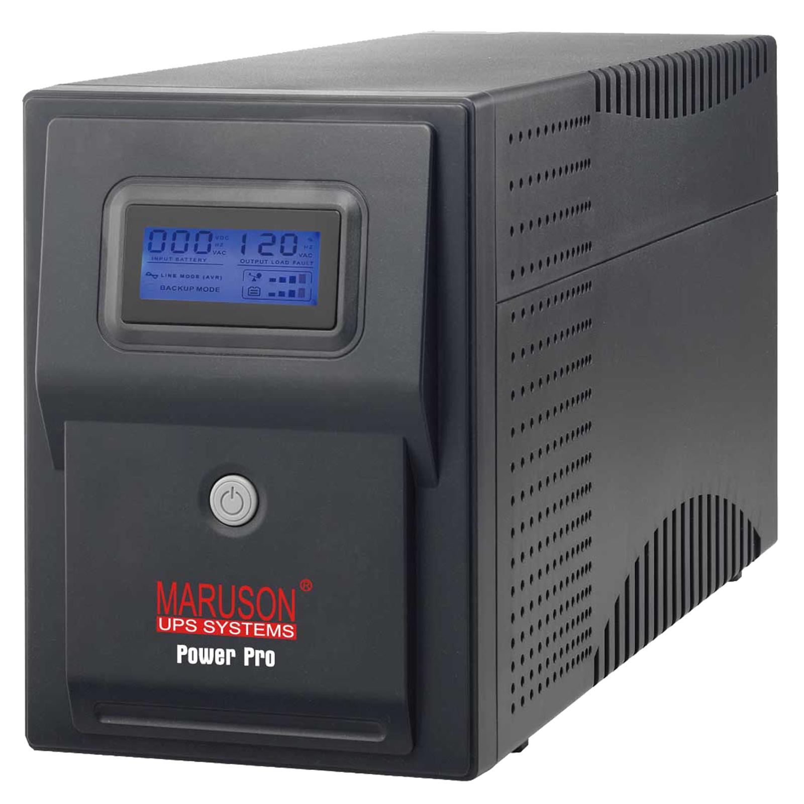 MARUSON POWERPRO ALCD SERIES 1000 VA - UPS SYSTEMS - PRO-1000ALCD
