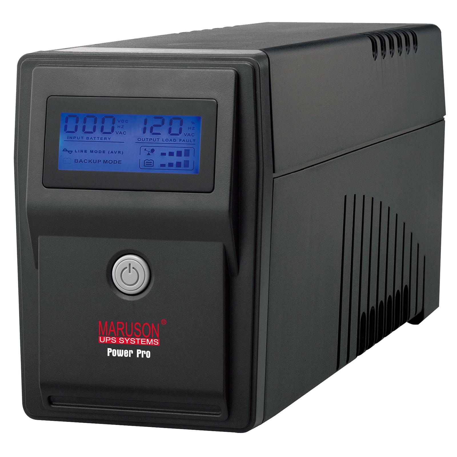 MARUSON POWERPRO ALCD SERIES 1500 VA - UPS SYSTEMS - PRO-1500ALCD