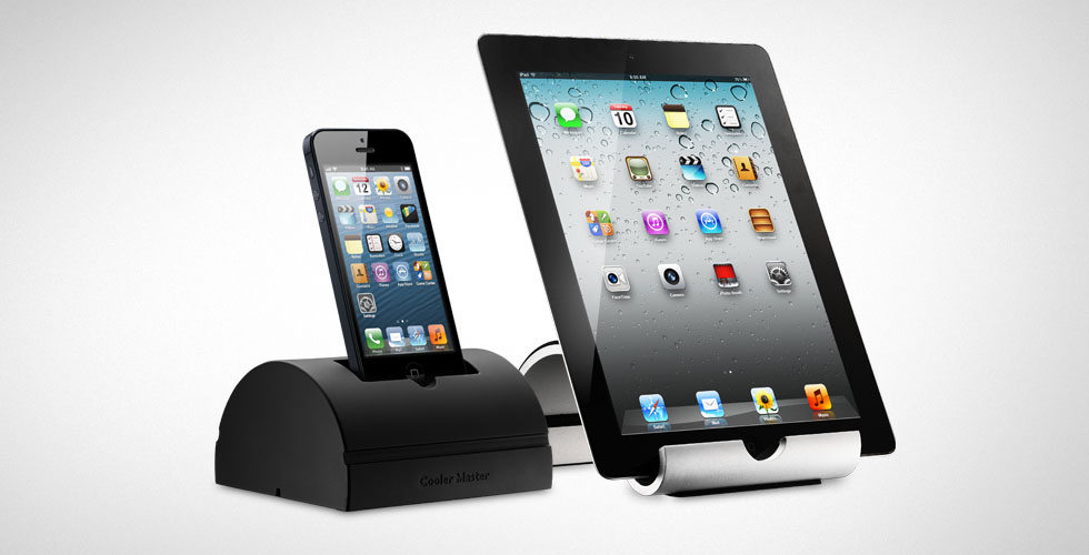 COOLER MASTER DUO STAND DOCK STORAGE FOR IPHONE IPAD - TABLET ACCESSORIES - R9-TPS-DUOS-GP