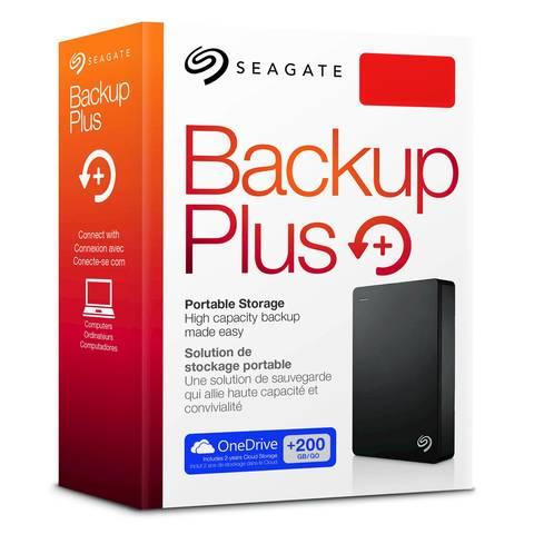 """SEAGATE BACKUP PLUS 4TB USB 3.0 2.5"""" EXTERNAL HARD DRIVE - STDR4000100"""