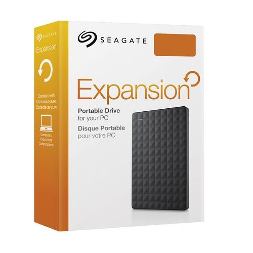 "SEAGATE EXPANSION 1TB USB 3.0 2.5"" BLACK - EXTERNAL HARD DRIVE - STEA1000400"
