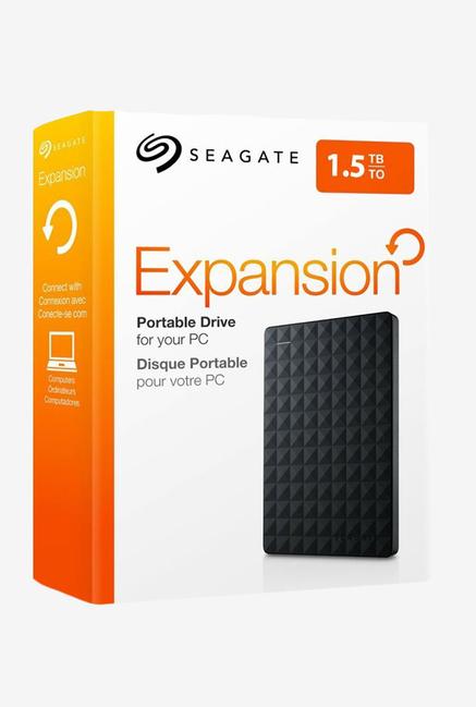"SEAGATE EXPANSION 1.5TB USB 3.0 2.5"" BLACK - EXTERNAL HARD DRIVE - STEA1500400"