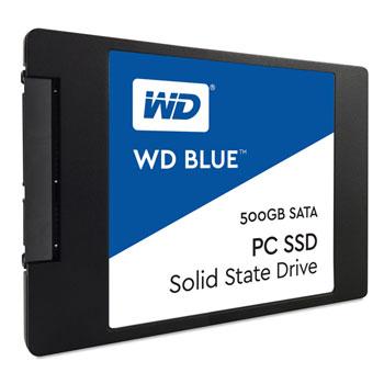 """WD BLUE PC SSD - 500GB, SATA3, 6GB/S, 2.5"""", 7mm - SOLID STATE DRIVE - WDS500G1B0A"""