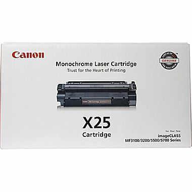 CANON X25 BLACK TONER CARTRIDGE - 8489A001