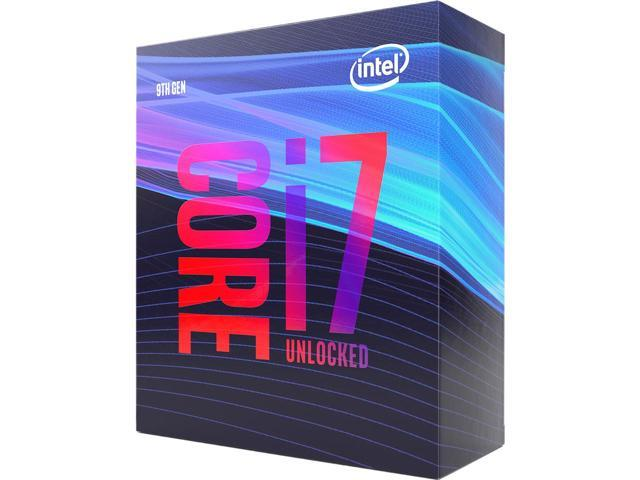 CPU INTEL i7 9700K Sup 300 series MB