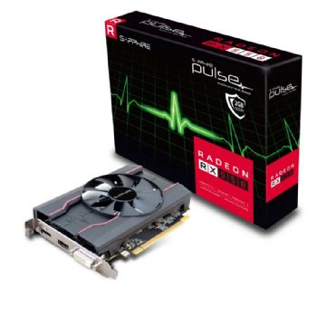 SAPPHIRE AMD PULSE RADEON RX 550 2GB DDR5 PCI-E - VIDEO CARD - 11268-16-20G