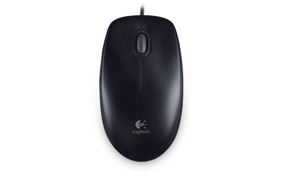 $LOGITECH B100 USB WIRED MOUSE (OEM)