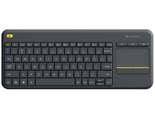 LOGITECH K400 PLUS WIRELESS TOUCH KEYBOARD - ENGLISH - 920-007119
