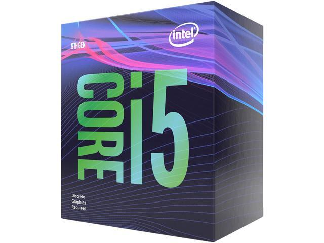 CPU INTEL i5 9400F NO VIDEO Sup 300 MB