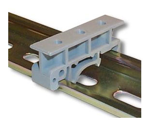Din Rail mounting kit for M350 CASE