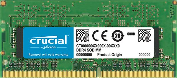 CRUCIAL    DDR4 2666  8GB SODIMM