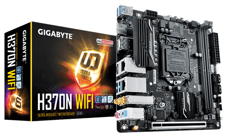 GIGA H370/S1151/8th CPU/WIFI/2GLAN/mITX