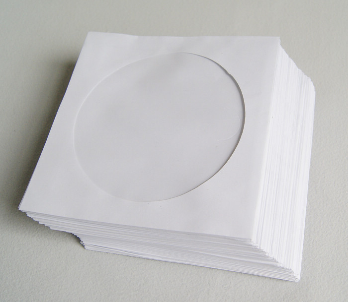 CD/DVD PAPER SLEEVE (100PCS)