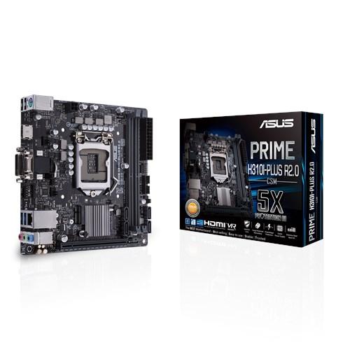 ASUS H310/S1151/9/8th CPU/HDMI+DVI/mITX