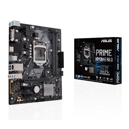 ASUS H310/S1151/9/8th CPU/M.2/HDMI+VGA