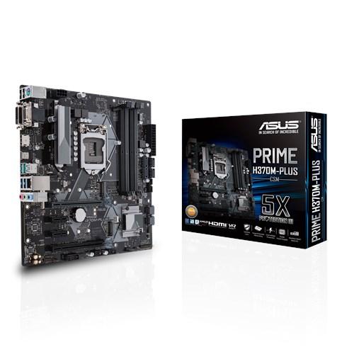 ASUS H370/S1151/9/8th CPU/IGP/2M.2/DVI/