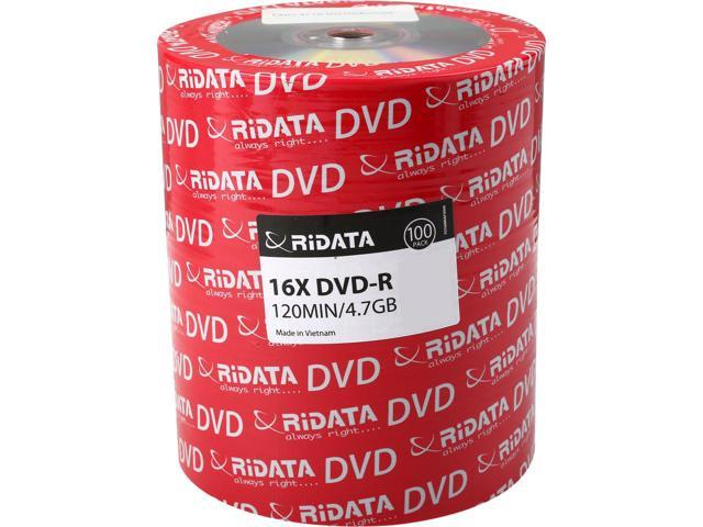 RIDATA 4.7GB(16X)DVD-R 100PCS FULL LOGO