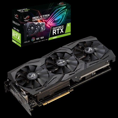 ASUS STRIX-RTX2060-O6G GAMING/2HDMI/2DP