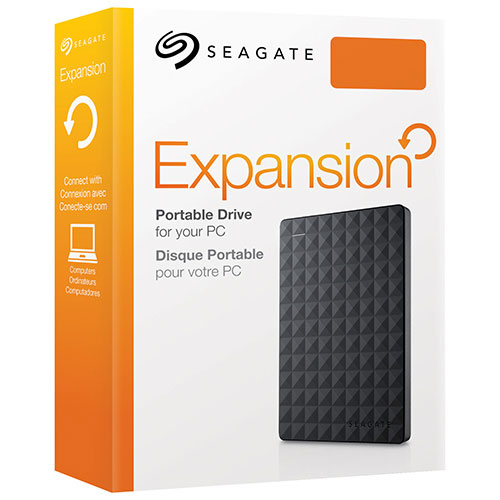 "SEAGATE EXPANSION 2TB USB 3.0 2.5"" BLACK - EXTERNAL HARD DRIVE - STEA2000400"
