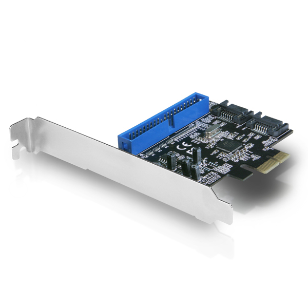 VANTEC 2+1 SATA 6G & PATA PCIe CTRL