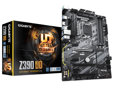 GIGA Z390/S1151/8/9th CPU/D4/M.2/HDMI
