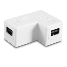 VANTEC MINI DP COUPLER F/F 90 DEGREE