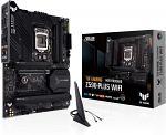 ASUS TUF Gaming Z590-Plus WiFi 6 LGA 1200 (Intel 11th/10th Gen) ATX Gaming Motherboard (PCIe 4.0, 3xM.2/NVMe SSD, 14+2 Power Stages, USB 3.2 Front Panel Type-C,2.5Gb LAN, Thunderbolt 4, Aura RGB)