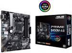 ASUS Prime B450M-A II AM4 AMD B450 SATA 6Gb/s Micro ATX AMD Motherboard