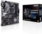 ASUS Prime B550M-A/CSM AMD AM4 (3rd Gen Ryzen™) microATX Commercial Motherboard (PCIe 4.0, ECC Memory, 1Gb LAN, HDMI 2.1/D-Sub, 4K@60HZ, TPM, ASUS Control Center Express)