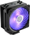 Cooler Master RR-212S-20PC-R1 Hyper 212 RGB Black Edition CPU Air Cooler 4 Direct Contact Heat Pipes 120mm RGB Fan